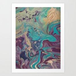 Midas Galaxy Art Print