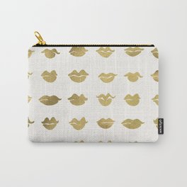 Kiss Collection – Gold Ink Carry-All Pouch