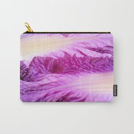 Purple Cabbage Beautiful Abstract Patterns By Nature Carry-All Pouch