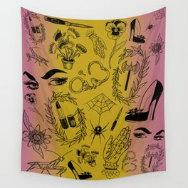 Queer Femme Fatale Wall Tapestry