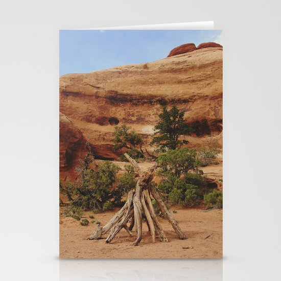 Small Teepee Stationery Cards