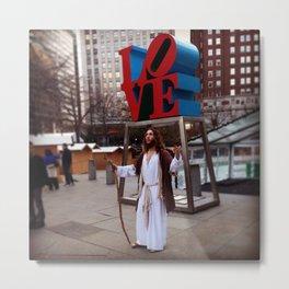 Love Jesus Metal Print