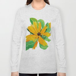 Sunshine Daisy Long Sleeve T-shirt