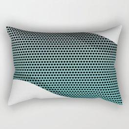 Silver Metal Texture background  #society6 #decor #buyart #artprint Rectangular Pillow