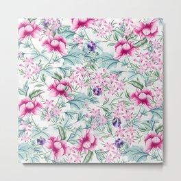 Floral Pattern 3 Metal Print