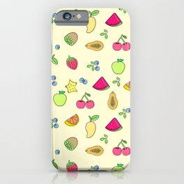 Cute-y Fruit-y Oh Louie iPhone Case