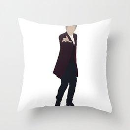 Twelfth Doctor: Peter Capaldi Throw Pillow