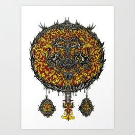 Dreamcatcher Dalliance Art Print