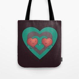 Heart 2 Heart Tote Bag