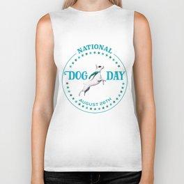 National Dog Day Biker Tank