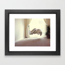 Exertion Framed Art Print
