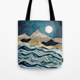 Indigo Sea Tote Bag