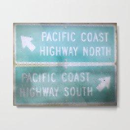 Pacific Rain Metal Print