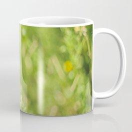 Little butterfly in flowery meadow Coffee Mug