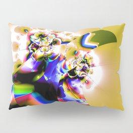 Fractal Paradise Bird Pillow Sham