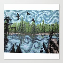 Gough in da Bayou Canvas Print