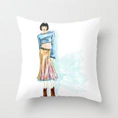 Fashion Killa Throw Pillow