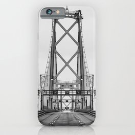 MacDonald Bridge Symmetry iPhone Case