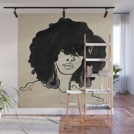 Styled Fro Wall Mural