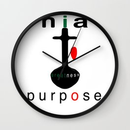 NIA = Purpose Wall Clock
