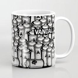 VANDAL and SPRAY CANS Coffee Mug