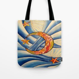 Moon & Stars Tote Bag