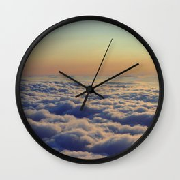 Ocean of clouds - Fine Arts Travel Photography Wall Clock