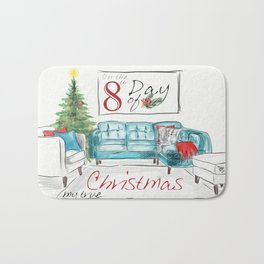EIGHTH DAY OF CHRISTMAS WEIMS Bath Mat