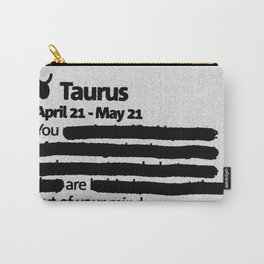 Taurus 1 Carry-All Pouch
