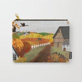 Autumn Village Carry-All Pouch