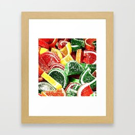 Slices Framed Art Print