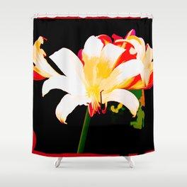 Multi-Color Lilies Shower Curtain