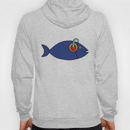 Fish and headphones Hoody