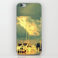 sail iPhone & iPod Skins featuring Lets Go For a Boat Ride by 2sweet4words Designs
