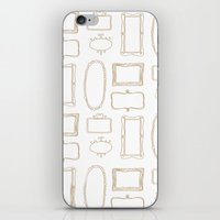 frames iPhone & iPod Skins featuring Frames by Sarah Liddell