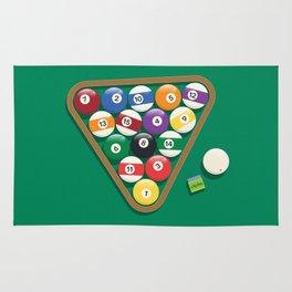 Billiard Balls Rack - Boules de billard Rug