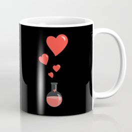 Love Chemistry Flask of Hearts Coffee Mug