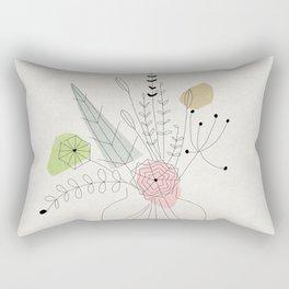 Judy's Bouquet Rectangular Pillow