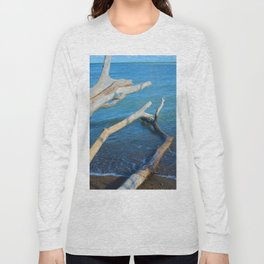 Lake Erie from Point Pelee National Park, Canada Long Sleeve T-shirt