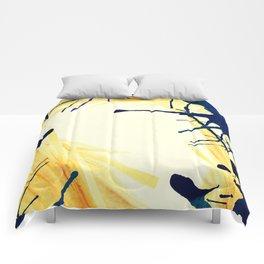 Ink border Comforters