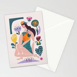 Mom & baby Stationery Cards