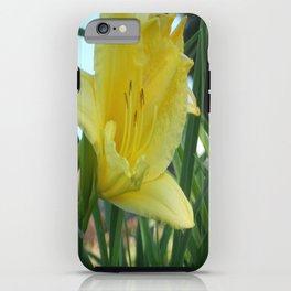 Hello Yellow iPhone Case