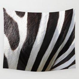 """""""Pop Safari 01 Zebra"""" Wall Tapestry"""