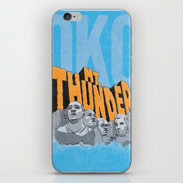 Mt. Thunder! iPhone Skin
