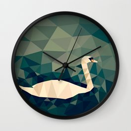 Cygnus olor Wall Clock