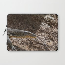 Monitor Lizard at Kinabatangan River, Borneo, Malaysia Laptop Sleeve