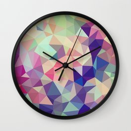 Jelly Bean Tris Wall Clock