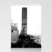 atlanta Stationery Cards featuring Rebirth Atlanta by Invert The World