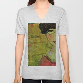 Our planet is quietly collapsing Unisex V-Neck
