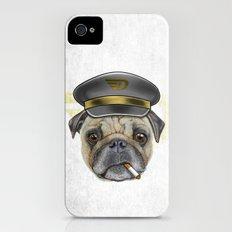 Pug Commander  iPhone (4, 4s) Slim Case